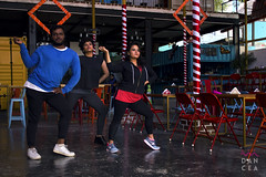 (bhanuprakash.in) Tags: dancea dance creative hip hop feel it still dancer trio music video shoot time fun pose choreography canon photography project bangalore india pablos gastro bar