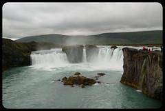 Godafoss (franz75) Tags: nikon d80 islanda iceland acqua water cascata fall godafoss