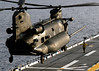 sdasm image (San Diego Air & Space Museum Archives) Tags: wasp lhd1 chinook army helicopter join training mh47 ch47