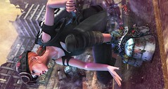 Frankenstomps (clau.dagger) Tags: drd boots shoes n21 secondlife grunge fashion style tram insol catwa maitreya poseidonposes hextraordinary postapocalypse