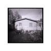 John's garage (tomusan) Tags: pinhole film kodak400 trix yard garage wagon zeroimage2000