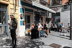 Sunny Sunday (Melchita) Tags: streetphotography street streetcolor streetphotographycolor streetscenes colorphotography urbanphotography urbanlife urbanscenes