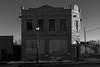 (el zopilote) Tags: aguilar colorado street architecture powerlines smalltowns signs stop canon eos 5dmarkii canonef24105mmf4lisusm fullframe bw bn nb blancoynegro blackwhite noiretblanc digitalbw bndigital schwarzweiss monochrome
