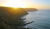 Spring Sunset (Andy.Gocher) Tags: andygocher canon100d sigma18250 europe uk wales pembrokeshire coastalpath coast coastline sea seascape seaside sun sunset haze lens flare