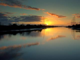 Serene River Ribble