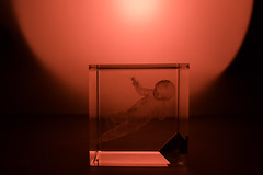 Lost in space (n.tsourouflis) Tags: babe red art glass photography people