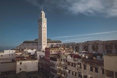 Morocco - 1st morning (chrisbastian44) Tags: casablanca hassanivmosque hassanmosque beautiful morningview morocco city urban africa muslim muslimculture mosque hassan ii mosquehassanii hassanmosque2 hassan2 hassanii roadtrip