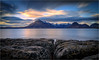 Cuillins from Elgol (Phil Durkin) Tags: isleofskye scotland uk winter skye cuillins rocks elgol sunset clouds cloudscape