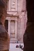 Surprise surprise, Petra (ljumica) Tags: 1855mm canon morning carved stone pink rocks camels giordania jordanien jordan petra treasury canyon siq