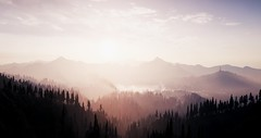 Above Dawn | Far Cry 5 (Razed-) Tags: far cry 5 montana sun rise mountains fog ubisoft pc gaming