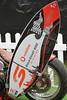 Vodafone custom (*SIN CITY*) Tags: gc600 goldcoast queensland qld race transport vehicle harley vodafone bike ride show v8 supercars surfersparadise surf surfboard chopper custom rigid red motorcycle