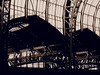 Stahl ... (Pico 69) Tags: stahlkonstruktion bahnhof dach hamburg sepia pico69