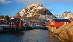 Å (Dalis.V) Tags: norway lapland lofoten å winter morning