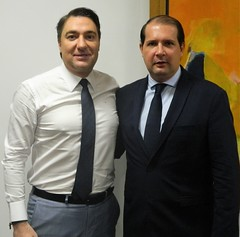 Audiência com o prefeito da cidade de Assis Chateaubriand (PR), Marcel Micheletto.