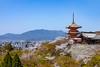 Kiyomizudera - Kyoto, Japan (Espen Faugstad) Tags: kiyomizudera kyoto japan pagoda temple shrine