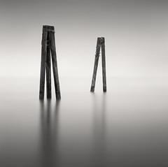 3 and 2 (C A Soukup) Tags: 120 longexposure ilforddelta100 hybridtheory hasselblad monochrome film mediumformat