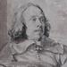 VAN DYCK Antoon - Portrait de Robert van Voerst, Graveur (drawing, dessin, disegno-Louvre INV19908) - Detail 11