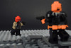 Outlaw vs Terminator (-Metarix-) Tags: lego super hero minifig minifigs red hood deathstroke slade wilson jason todd robin outlaw terminator battle showdown