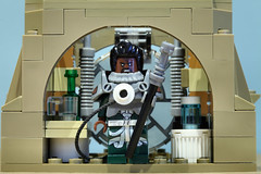 Lego Saw Gerrera MOC: Save the dream! (graeme.watson) Tags: lego star wars saw gerreras hideout moc rogue one the catacombs cadera jeddah