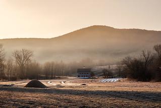 Cold Spring Sunrise