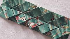 Buchzeichen von Fujimoto (musitine) Tags: origami tessellation fujimoto hydrangea paperart