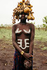 demure (rick.onorato) Tags: africa ethiopia omo valley tribes tribal mursi girl