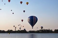 76 (Patricia Henschen) Tags: balloonliftoff balloonclassic hotairballoon prospect lake memorialpark park prospectlake colorado coloradosprings downtown laborday labordayliftoff balloon balloons morning dawn