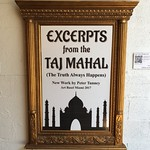 Excerpts From The Taj Mahal (The Truth Always Happens) Art Exhibit By Peter Tunney thumbnail
