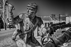 """John Paul Jones "" Father of the US Navy, Spike the Guns. (Pensioner Percy) Tags: johnpauljones usnavy whitehaven d7200 england statue ltstevelyons nikon silverefexpro americanrevolution nikon1801400mm unitedstatesnavy cumbria westcumbria port"