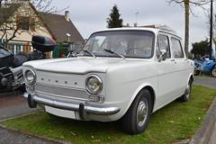 Simca 1000 (Monde-Auto Passion Photos) Tags: voiture vehicule auto automobile simca 1000 berline ancienne classique blanc white collection france courtenay