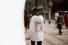 asian hoodie (hey_dima) Tags: china 2018 spring film kodak 400iso portra 35mm 135mm olympusom1 zuiko zuiko50mm 50mm kodakportra kodak400 shanghai girl chinagirl asian asia