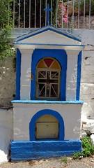 a memorial shrine near the Kyparissia Old Town IMG_8080 (mygreecetravelblog) Tags: greece peloponnese messenia messinia kyparissia town outdoor landscape shrine memorialshrine monument