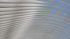 Gigantic Arch Construction (ARTUS8) Tags: minimalismus pattern flickr nikon1635mmf40 abstrakt pastell öffentlichesgebäude muster nikond800 linien modernearchitektur struktur lookingup
