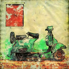 Vespa (Bob Smerecki) Tags: smackman snapnpiks robert bob smerecki sports art digital artwork paintings illustrations graphics oils pastels pencil sketchings drawings virtual painter 6 watercolors smart photo editor colorization akvis sketch drawing concept designs gmx photopainter 28 draw hollywood walk fame high contrast images movie stars signatures autographs portraits people celebrities vintage today metamorphasis 002 abstract melting canvas baseball cards picture collage jixipix fauvism infrared photography colors negative color palette seeds university michigan football ncaa mosaic