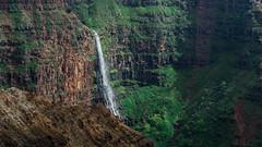 Hawaii USA - Kauai  Island - Waimea Canyon State Park. Opaekaa Falls. (Feridun F. Alkaya) Tags: kauai kauaiisland usa hawaii waimeacanyonstatepark waimea waimeacanyon hawaiiisland ngc