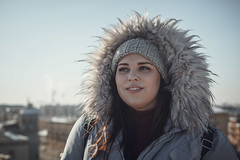 Maria Svätski-23 (e_islamov) Tags: red walking people portrait pose professional outdoor outside happy hollyday holliday girls girl spb saintpetersburg sanktpeterburg russia