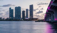 Miami skyline at night (Maciek Lulko) Tags: floryda usa usa2017 miami architecture architecturephotos architektura architektur architettura architekturawspółczesna arquitectura archidose archdaily architectureatnight city cityscape cityatnight citylights nightphotos night nightscape bluehour longexposure nikon nikond750 waterandarchitecture waterfront miamidowntown skyscraper skyscrapers skyline cityscapes