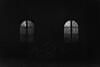 (kiskami) Tags: fujifilm xt20 rawtherapee röjtökmuzsaj castle hotel snowy evening blackandwhite monochrome