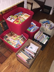 JLGA donated hundreds of books to Serving Area Kids (SAK) to be given to children who receive free lunches through their summer lunch program.