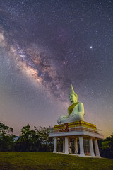 Contemplating the universe (drdrlim) Tags: milkyway nightscape starscape astronomy stars astrophotography meditation
