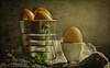 Easter Eggs (Dave Whiteman - AU) Tags: stilllife spoon parsley eggs
