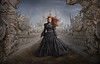 Lady Vogel (Robert Cornelius Photography) Tags: manipulation magic magical manipulated manipulate makeup photoshop photoshopped photography photoshopper photoshopping portrait photo photographer portraiture pretty particles hair red woman lady cornelius composite composited creative