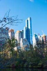 "One57, formerly known as Carnegie 57 and nicknamed ""The Billionaire Building"" (MikePScott) Tags: thebillionairebuilding buildings builtenvironment camera carnegie57 featureslandmarks manhattan newyork newyorkcity nikon28300mmf3556 nikond800 one57 sky skyscraper trees usa unitedstatesofamerica"