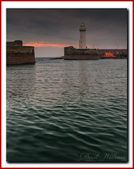 The Morning Tide (Deek Wilson) Tags: donaghadee lighthouse lifeboat rnli seascape sky sunrise northernireland tide wave water