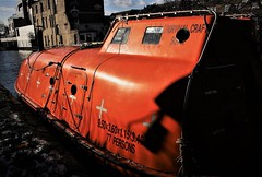 IMG_9146 (olivieri_paolo) Tags: supershots barge boat canal orange london