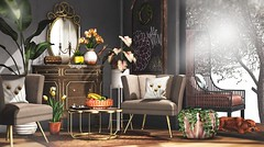 Sometimes dogs have the right idea (Alexa Maravilla/Spunknbrains) Tags: fancydecor bloom commoner hive ariskea fameshed uber littlebranch tlc chapterfour loftaria dustbunny con jian {vespertine} milkmotion decor home furniture blogger indoors spring pets dog architecture sl secondlife