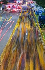 Thaipusam Street Blur (Packing-Light) Tags: asia singapore travel city citystate diversity trade hinduism religion festival street march thaipusam2018 pilgrims sacrifice walking blur tamil littleindia night movement sg