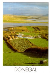 Postcrossing GB-994519 (booboo_babies) Tags: ireland green donegal country countryside postcrossing