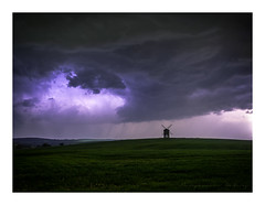 April Showers (ben_wtrs79) Tags: april showers thunder storm lightning clouds sky windmill chesterton warwickshire olympus omd em1 1240 pro