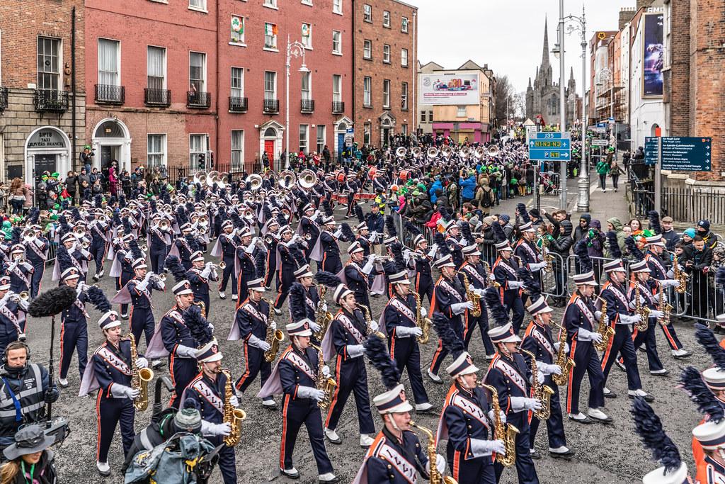 DUBLIN SAINT PATRICKS PARADE 2018 [THE MARCHING ILLINI]-137405